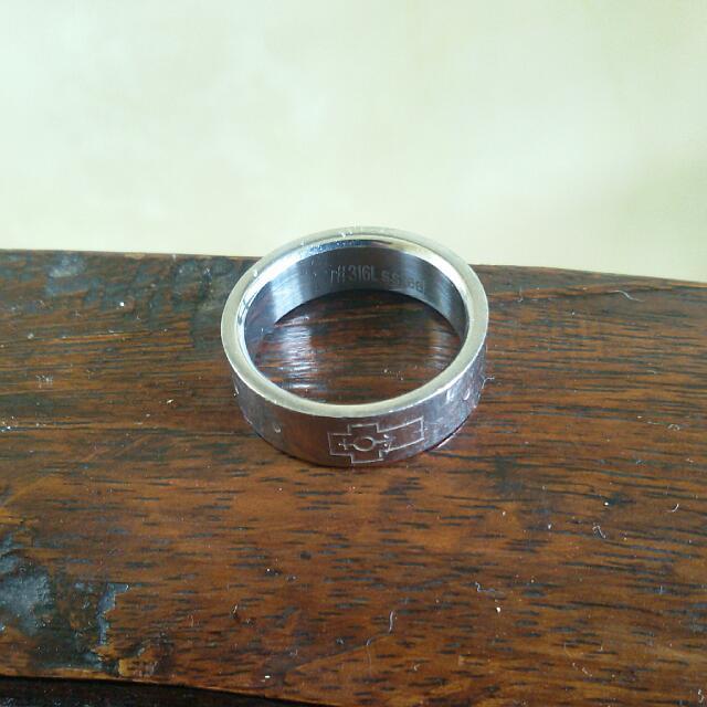 Unisex Stainless Steel Ring ➖ Cincin utk Pria/Wanita