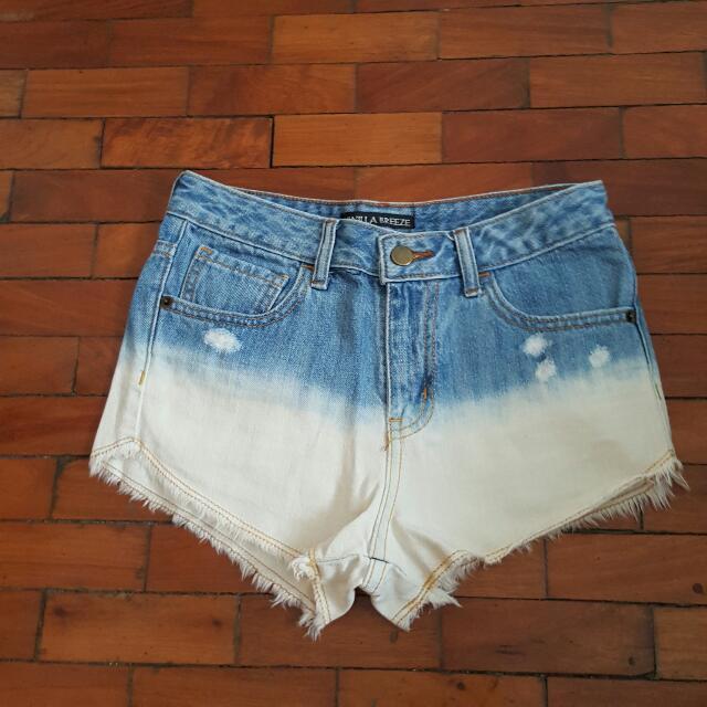 Vanilla Breeze High Waisted Shorts