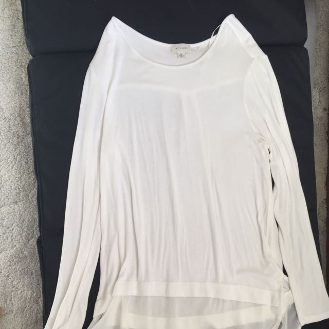 White Witchery blouse / Long Top