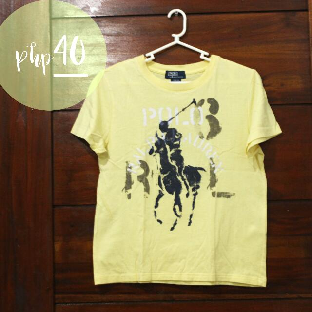 Yellow Shirt Polo By Ralph Lauren For Boys