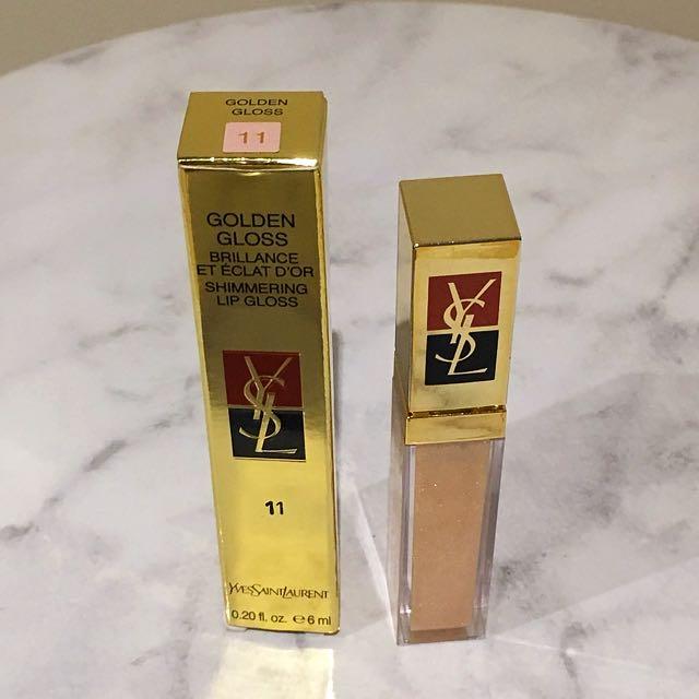 YSL Golden Gloss Shimmering Lipgloss