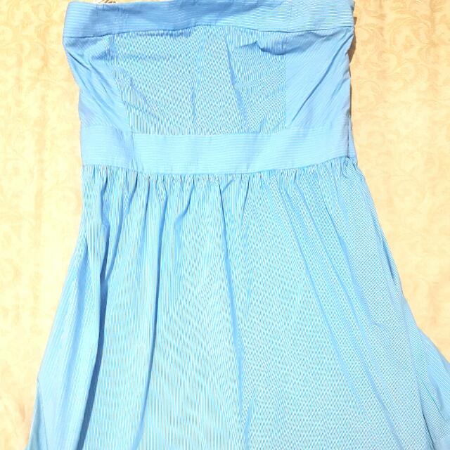 Zara ORIGINAL Blue Dress