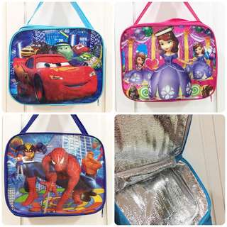 Cartoon Cooler Bag / Lunch Bag