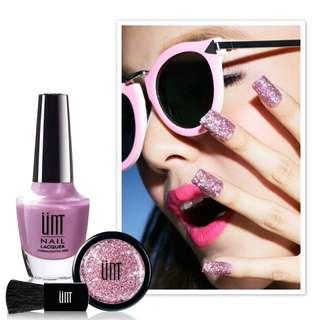 UNT 派對閃閃 亮片指彩組-粉紅香檳PA030#兩百元彩妝出清