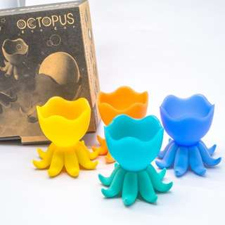 Octopus EGG CUP Set Of 4