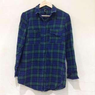 Forever 21 Checkered Plaid Shirt