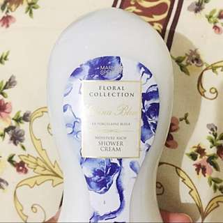 NEW Rp.50rb Marks and Spencer China Blue Shower Cream