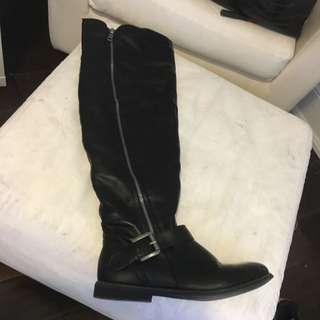 Just Fab Over The Knee Boots Size 7.5