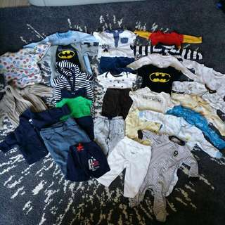 Lot Of Over 20 Pieces Of Baby Clothing