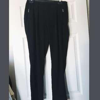 ZARA side zip Long Pants