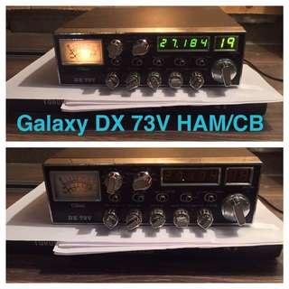 Galaxy DX 73V CB/HAM Radio
