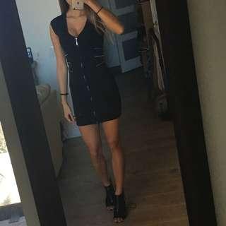 F21 Black Dress
