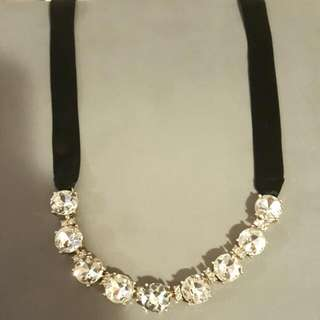 Diamond Laced Necklace- Banana Republic