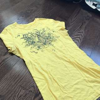 Yellow Hurley T Shirt