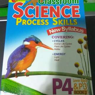 Science Process Skills P4 And 3