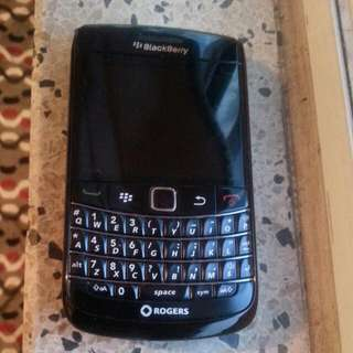 Black Blackberry Curve
