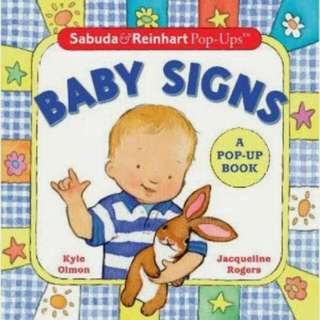 Baby Signs (A pop-Up Book)