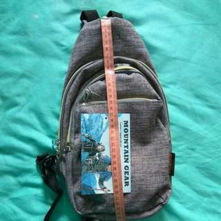 (Reduced price to clear) Grey Small Back Pack