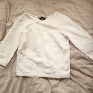 Dorothy Perkins Quilted Sweater Top