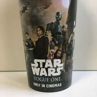 Star Wars Rogue One Movie Cup And Straw