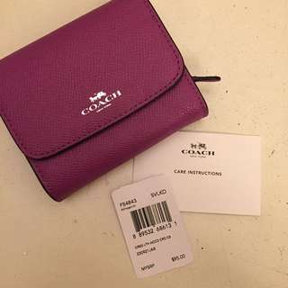 Coach Small Wallet