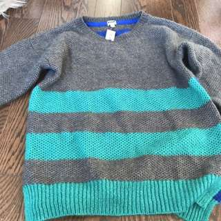Colourful Knit Sweater