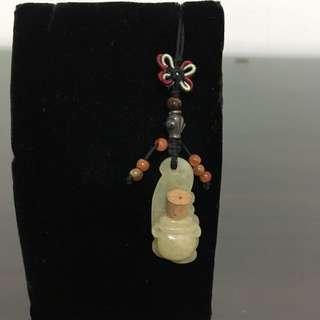 可放香水檀香玉葫蘆罐吊飾