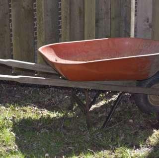 Wheel Barrel - Pick Up Don Mills