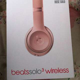 Beat Solo 3 Headphones