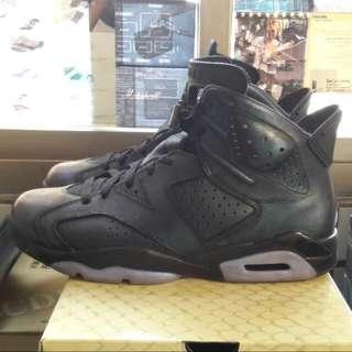 🚚 Air Jordan 6 黑紫色 10.5