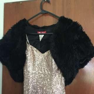 Formal Fur Mini Vest
