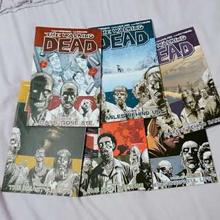 Walking Dead Volumes 1-6