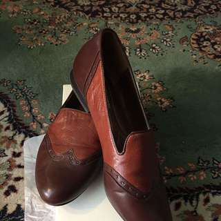 Gorgeous Naturalizer N5 Brown Leather Shoes Size 9 W #HAPPY EASTER