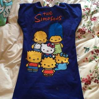Hello Kitty Simpsons Dress