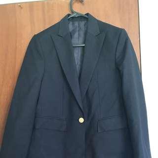 Navy Blue Office Blazer Size M/L