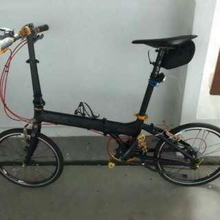 Title: Crius Master V folding bike, 406
