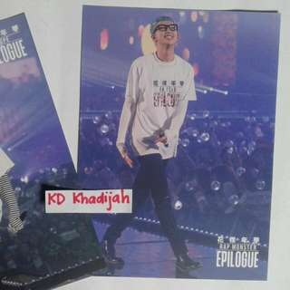 [READY STOCK] BTS HYYH EPILOGUE BLURAY VERSION RAP MONSTER POSTCARD