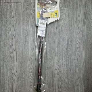 日本進口,Maki 花紋拐杖 (實木扶手,超硬堅,超輕,飛行鋁合金製)3