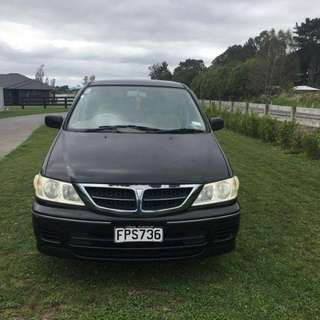 Nissan Presage 2003 7/8 Seater People Mover