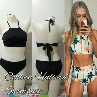 Cohleen Halterd Swimsuit