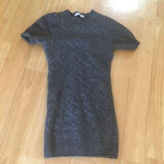 Knitted Bodycon Top XS