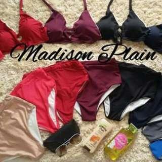 Madison High Waist Swimsuit