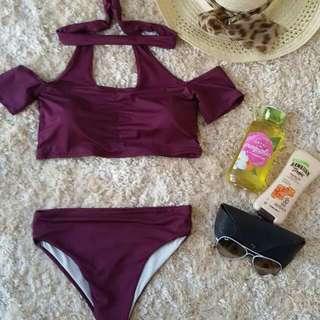 Stacey Chocker Swim Suit