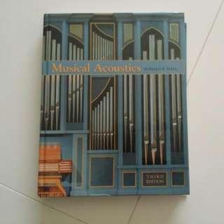 Musical Acoustics Donald E. Hall