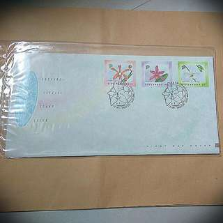 1991 Singapore Orchid Series FDC