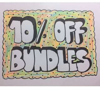 10% Off Bundles!*