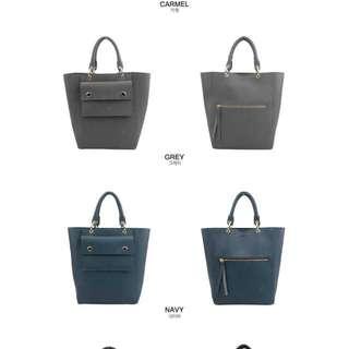 Korea Dark Blue Bag Made In Korea