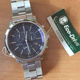 Citizen Men's Eco Drive Chronograph Watch