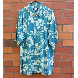 Vintage 90s Hawaiian Party Shirt
