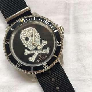 Authentic Toy Watch Skeleton Diamonds